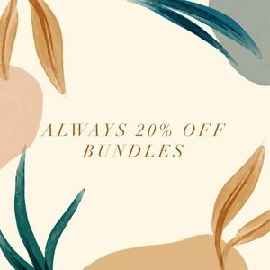 Get 20% off bundles of two or more!